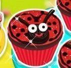 Cupcakes da joaninha receita