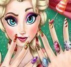 Elsa manicure de Natal