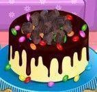 Fazer bolo de chocolate para mamãe