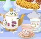 Chá da tarde decorar mesa