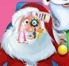 Cuidar dos olhos do Papai Noel