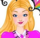 Super Barbie roupas da escola