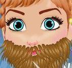 Fazer barba da Anna