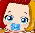 Cabeleireiro para bebê