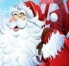 Vender biscoitos com Papai Noel