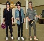 Vestir os Jonas Brothers