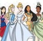 Pintar Todas as Princesas da Disney