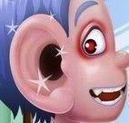 Limpar ouvido do garoto