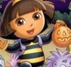 Quebra cabeça do halloween da Dora