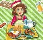 Café da manhã lanchonete