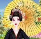 Escolher modelo de roupas japonesa