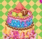 Receita e decoração do bolo