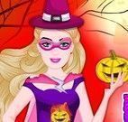 Super Barbie casa do Halloween