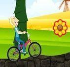 Andar de bike com a Polly