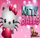 Atirar em corações da Hello Kitty