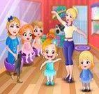 Aula de balé bebê Hazel