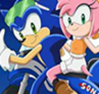 Aventuras na moto do Sonic