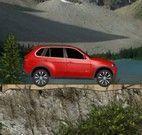 Dirigir carro nas montanhas