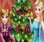 Elsa e Anna decoração de Natal