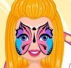 Pintura de máscaras no rosto