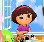 Torta para decorar da Dora