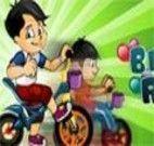 Jogo de Crianças de Moto