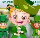 Bebê Hazel festa da Irlanda