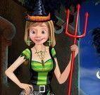 Vestir Riley para Halloween