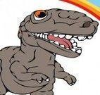 Pintar livro dos dinossauros