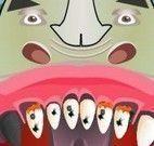 Cuidar dos dentes do rinoceronte