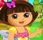 Dora decorar jardim
