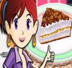 Cozinhar torta de banana com a Sara
