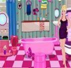 Banheiro da Barbie decorado