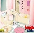 Banheiro divertido