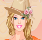 Barbie moda country