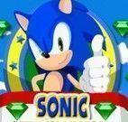 Sonic coletar pedras preciosas