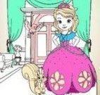 Princesa Sofia pintar