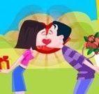 Beijar escondido dos coleguinhas