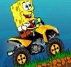 Bob Esponja ATV fundo do mar