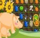 Brincar na fazenda com os animais