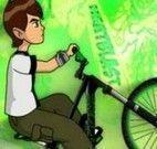 Ben 10 aventuras com bicicleta