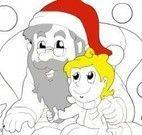 Pintar desenho do natal