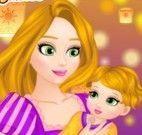 Rapunzel mamãe decorar quarto