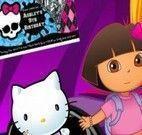 Decorar quarto da Barbie, Hello Kitty e Monster High