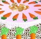 Decoração do bolo de cenoura