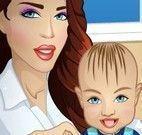 Cuidados de babá com o bebê