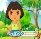 Vestir Dora para passear na praça