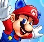 Sonic e Mario manobras radicais de esqui