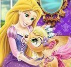 Rapunzel cuidar do bichinho