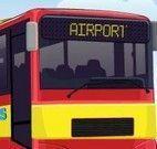 Estacionar ônibus no aeroporto